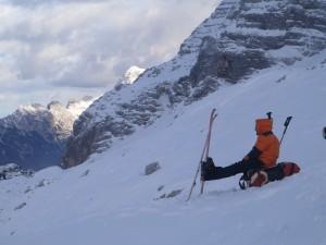 Za pristup do jame zimi nuĹľno je imati opremu za kretanje u zimskim uvjetima Photo Marko Rakovac